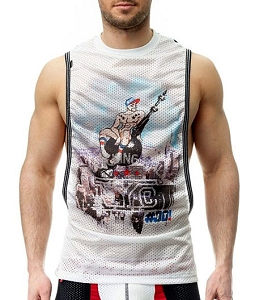 Do It Wrecking Ball Party Tank Top White / Black 044 028