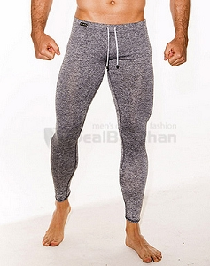 Gigo fitness grey lycra long pants