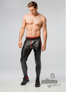 Skulla Men's Fetish Leatherette Pants